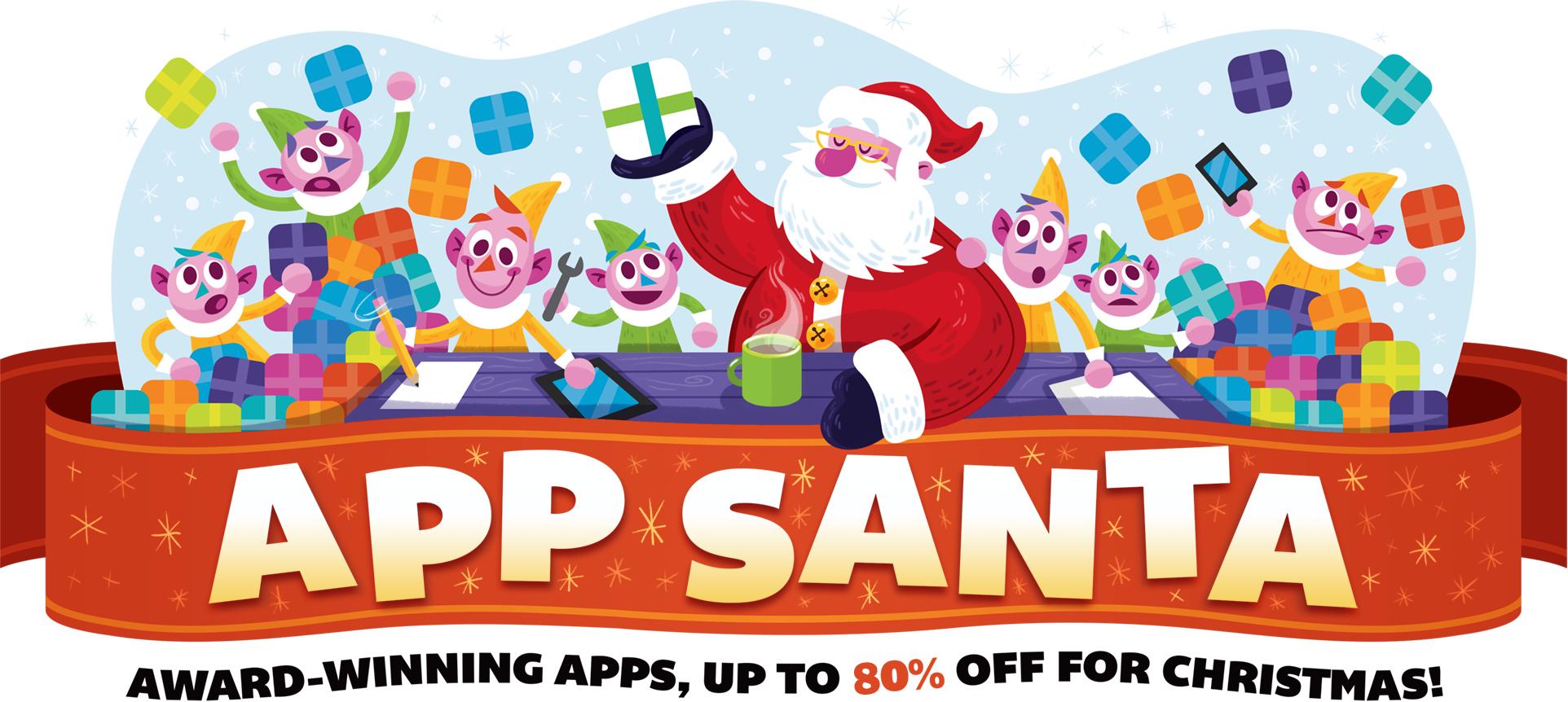[iOS] [macOS] App Santa: App-Preise um bis zu 80% gesenkt