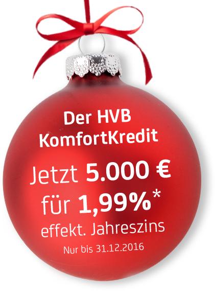 Ein Konsumkredit über 12 - 84 Monate für effektiv 1,99 % Zinsen