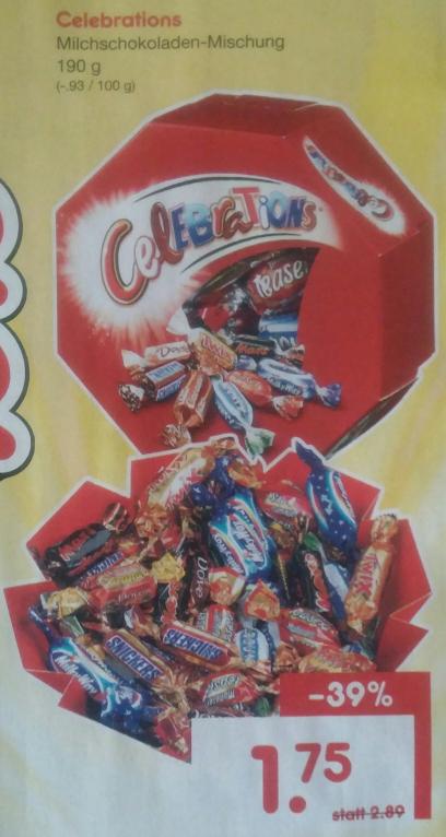 [Netto Marken-Discount] Celebrations 190 g