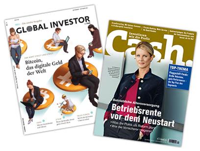 Cash. (Zeitschrift) gratis Abo