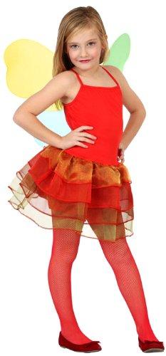 Atosa 23501 - Herbstfee Mädchen Kostüm, Größe 128, rot