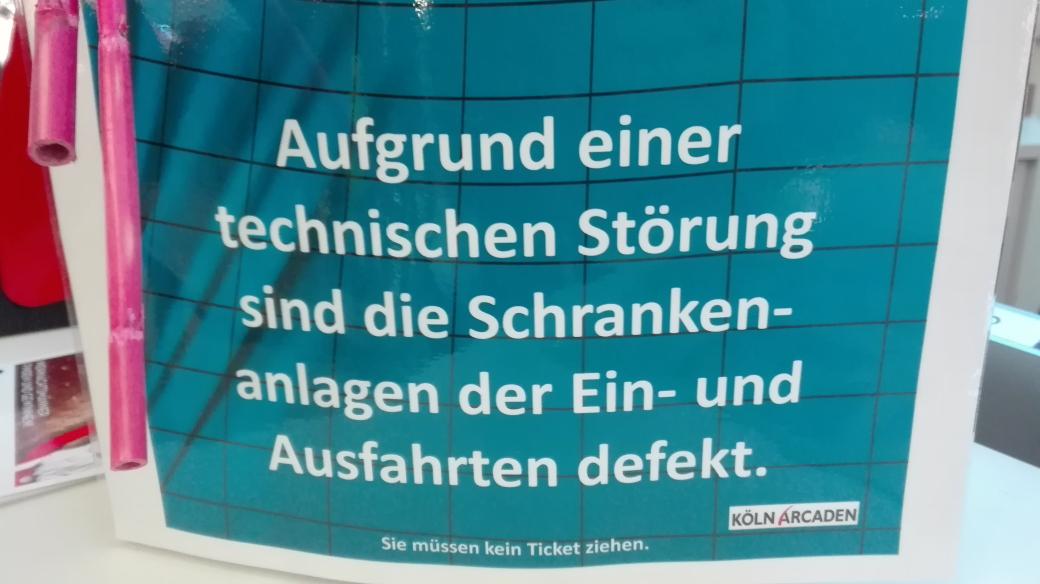 [lokal] Köln-Kalk Arcaden kostenlos parken