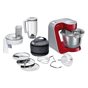 Bosch, Universalküchenmaschine MUM58720  ROT