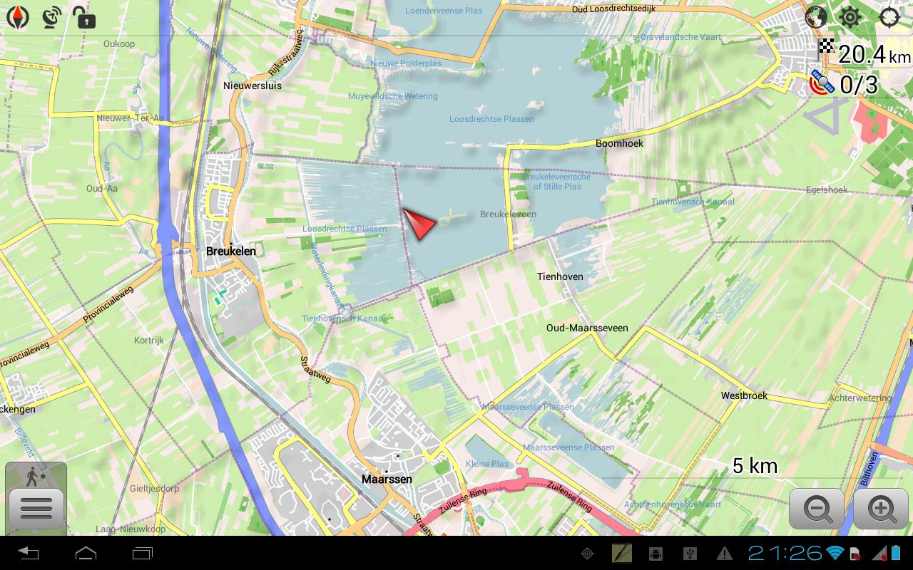 Karten & Navigation — OsmAnd+ für 3,49€ bei Google Play (50% Rabatt)
