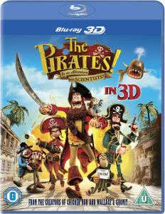 [zavvi] The Pirates! In an Adventure with Scientists (3D BluRay - OV)