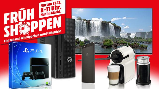 Media Markt Frühshoppen 27.12. - Preise bekannt - nur offline - 8-11 Uhr