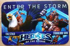 Heroes of the Storm Hero and Skin - Lord Falstad Stormlord Bundle