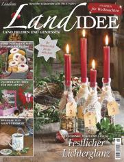 Jahresabo Zeitschrift Landidee + Prämie (z.B. 10€ DM-Gutschein) für 22,50€