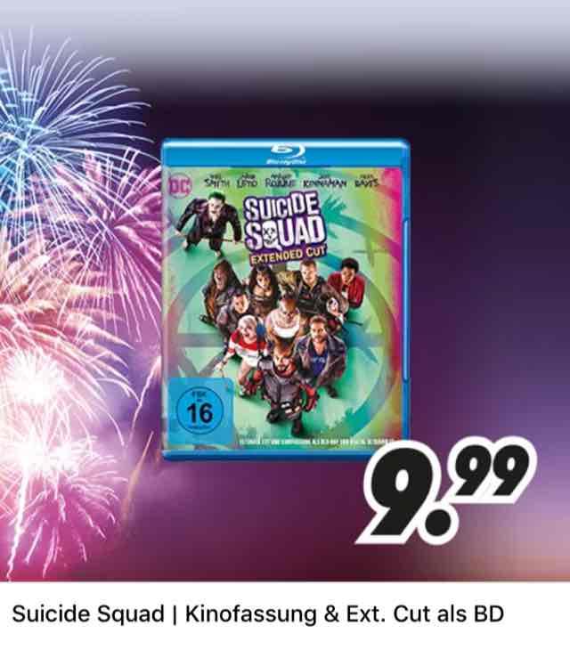 [MEDIMAX] Suicide Squad für 9,99€