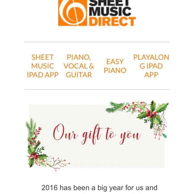Über 20 Komplett kostenlose Piano Arrangements auf Sheetmusicdirect