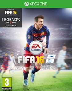 (Amazon PRIME) FIFA 16 Xbox One für 7,14€ / Fifa 16 Xbox One Steelbook Edition 9,82€