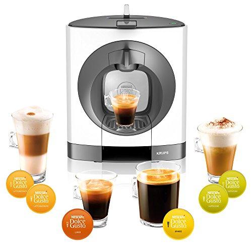 [Amazon DE]Krups KP 1101 Nescafé Dolce Gusto Oblo Kaffeekapselmaschine (manuell) weiss