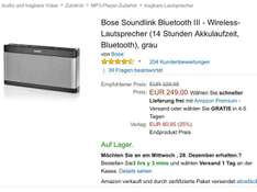 Bose Soundlink III Amazon.es