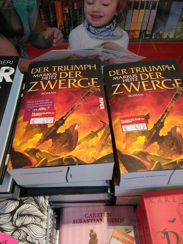 (ggf lokal Mainz) Hugendubel - Der Triumph der Zwerge für 4,99 als Mängelexemplar
