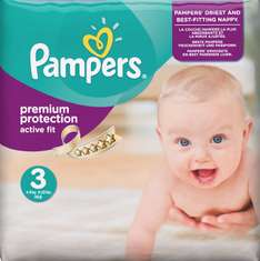 Pampers - 9 Cent / Windel - Premium Protection 3 active fit - Lokal Metro Krefeld