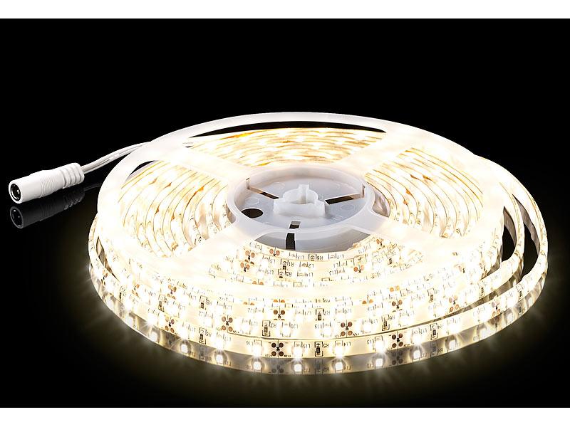 LED-Streifen, 3 m, warmweiß, Outdoor IP65
