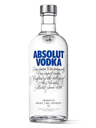 Silvester-Survival-Kit Absolut Vodka 3L [Bestpreis]
