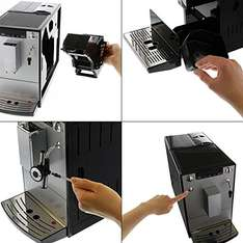 [Amazon Prime]Melitta E 957-103 Kaffeevollautomat Caffeo Solo & Perfekt Milk (Cappuccinatore) silber