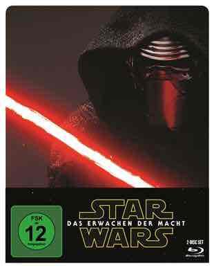 Star Wars: Das Erwachen der Macht - Blu-ray Steelbook für 13,49€ (PVG 18,49€) @CeDe