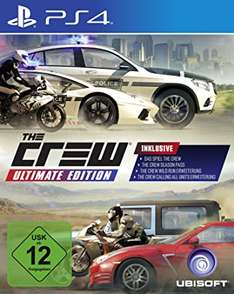 The Crew Ultimate Edition für PS4/XboxOne/PC bis 01.01.2017 unter 30€
