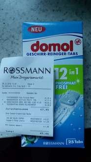 domol geschirr reiniger tabs rossmann. Black Bedroom Furniture Sets. Home Design Ideas