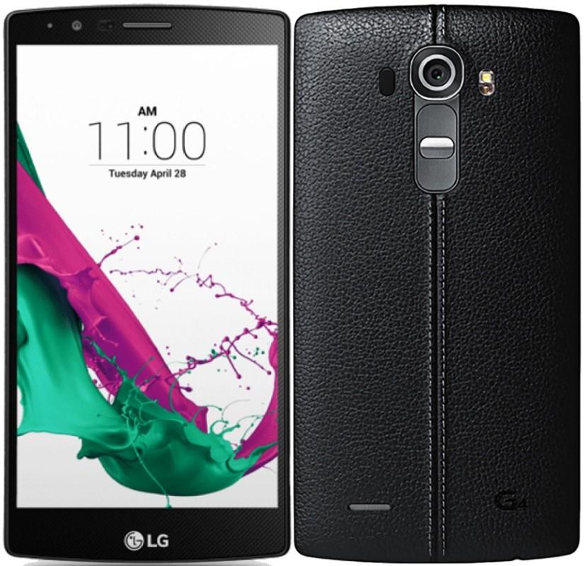 LG G4 Dual Sim h818p 32GB+3GB Leder Schwarz