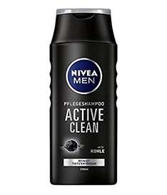 Nivea Men Pflegeshampoo Active Clean (4 x 250 ml)