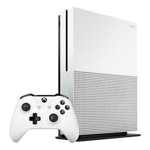 Microsoft XBOX ONE S 500GB SOLO weiß Konsole HDR 4K UltraHD für 188€bei eBay