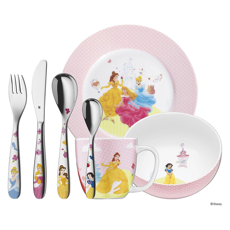 WMF Sale bei B4F - z.B. Kinderbesteck-Set Disney Princess, Shaun das Schaf oder Cars für je 41,89€ inkl VSK