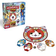[Amazon Plus Produkt] Hasbro Spiele B6494100 - Monopoly Yokai Watch Junior, Familienspiel für 5,99€