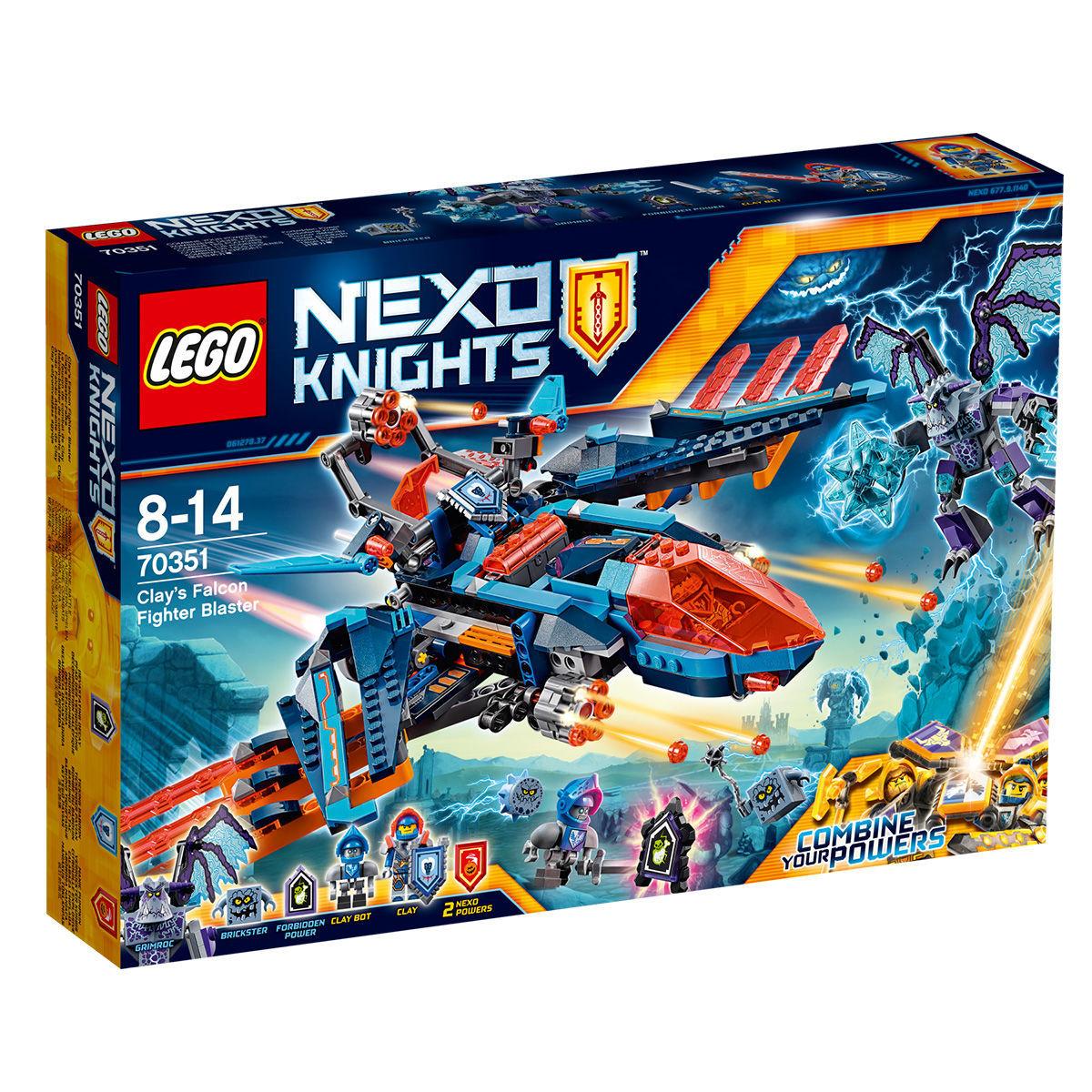LEGO 70351 Nexo Knights Clays Blaster-Falke [Karstadt]