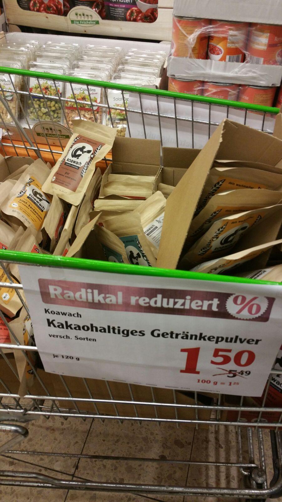 [ Local ] Globus Völklingen - koawach Bio- & Fairtrade Kakaos mit Guarana 1,50 Euro