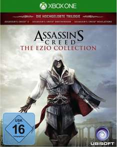 (offline Müller bundesweit) Assassin's Creed: The Ezio Collection (Xbox One + PS4) mit Rossmann
