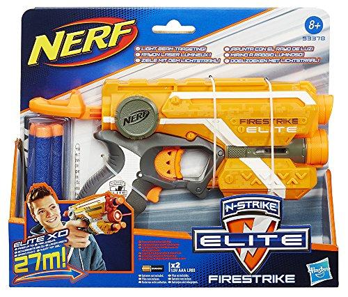 [Blitzangebot] Hasbro Nerf 53378E35 - N-Strike Elite Firestrike, Spielzeugblaster
