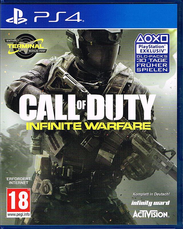 [PS4] Call of Duty Infinite Warfare UK Uncut Bonus Edition im Crazy Deal