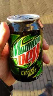 Dose Mountain Dew umsonst in Venlo (NL)