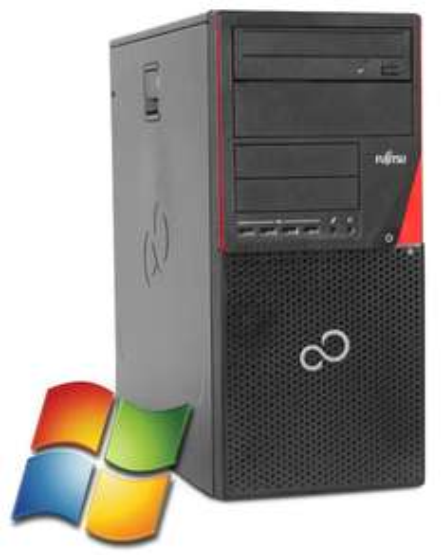 Fujitsu Esprimo P700 Desktop PC (Intel G840, 4GB RAM, 500GB HDD, DVD-Brenner, DVI + DisplayPort, Win 7 Pro -> 10 Pro) für 96,80€ [gebraucht] [Softwarebilliger]