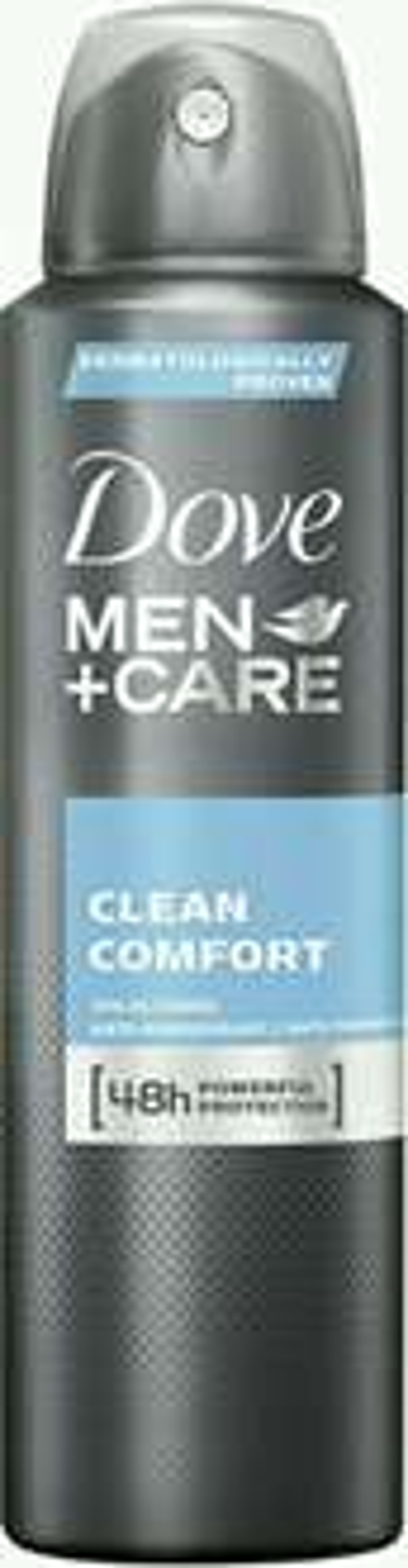 Dove Men+Care Deospray Clean Comfort  Anti-Transpirant, 3er Pack (3 x 150 ml)