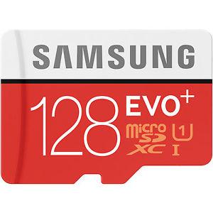 [Ebay] Samsung 128GB EVO+ microSD Speicherkarte 80MB/s [+SD-Adapter] für 29,-€  Versandkostenfrei