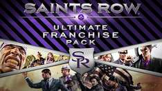 Saints Row: Ultimate Franchise Pack (Saints Row 2, The Third, IV, Gat out of Hell + DLC) für 10,19€ [GMG]