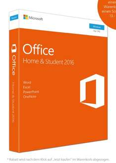 Microsoft Office Home and Student 2016 Key [Amazon]