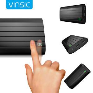 Vinsic Externer 20000mAh Power Bank für 23,64€ [Ebay]