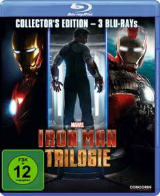 Iron Man Trilogie (Bluray) für 9,97€ & The Complete Bourne Collection (Bluray) für 13,97€ [Amazon Prime]