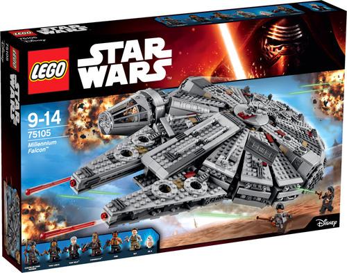 LEGO® Star Wars™ - 75105 - Millennium Falcon™ mit Gutschein Newyear17 und anderes Lego / Brio