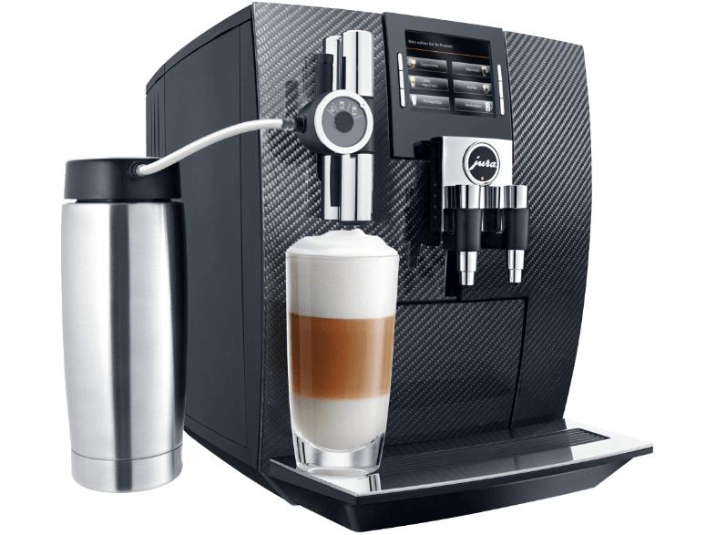JURA 15039 J95, Kaffeevollautomat, 2.1 Liter Wassertank, 15 bar, Aroma+-Mahlwerk, Carbon