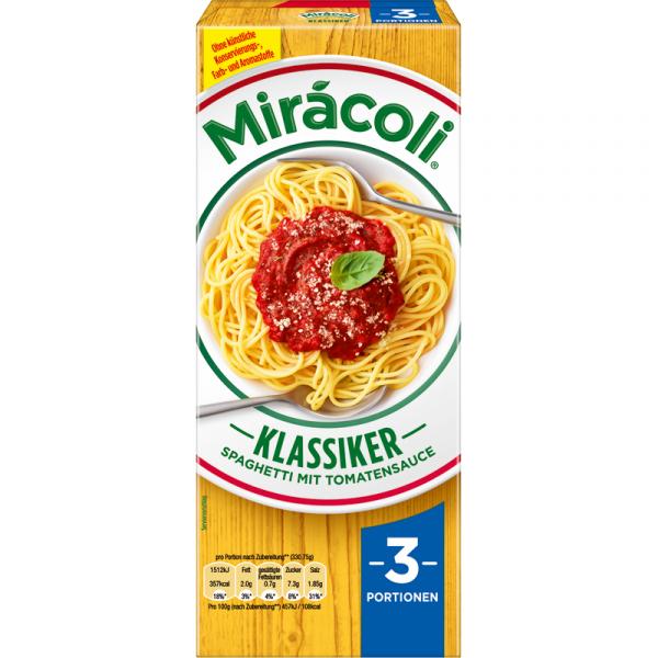 Martkauf -  Miracoli Nudeln mit Tomatensauce 3 Portionen kostenlos anstatt 2,79EUR