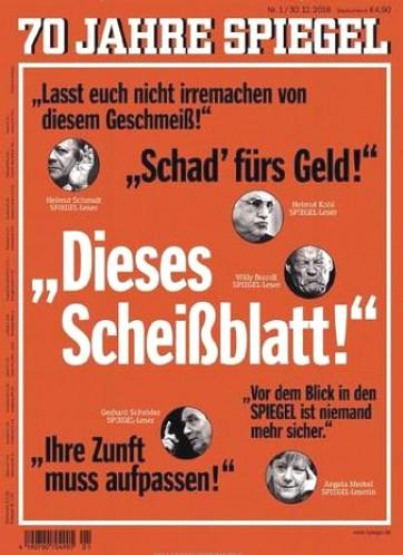 Der Spiegel Prämienabo - 150,- € für Werber - dadurch Effektivpreis von 89,20€