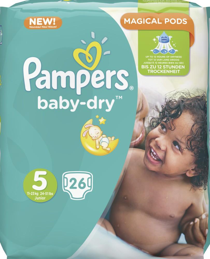 Pampers Baby Dry Packs, z.B. Gr.4: Stk. 15,5 Cent - Aktuelles Prospekt EDEKA Südbayern
