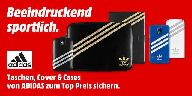 [Media Markt Sammeldeal]Adidas Handy Notebook Tablet Hüllen Taschen Cases Abverkauf