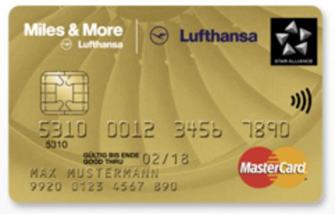 10.000 bzw. 20.000 Meilen für Lufthansa Miles & More Kreditkarte World (Plus)